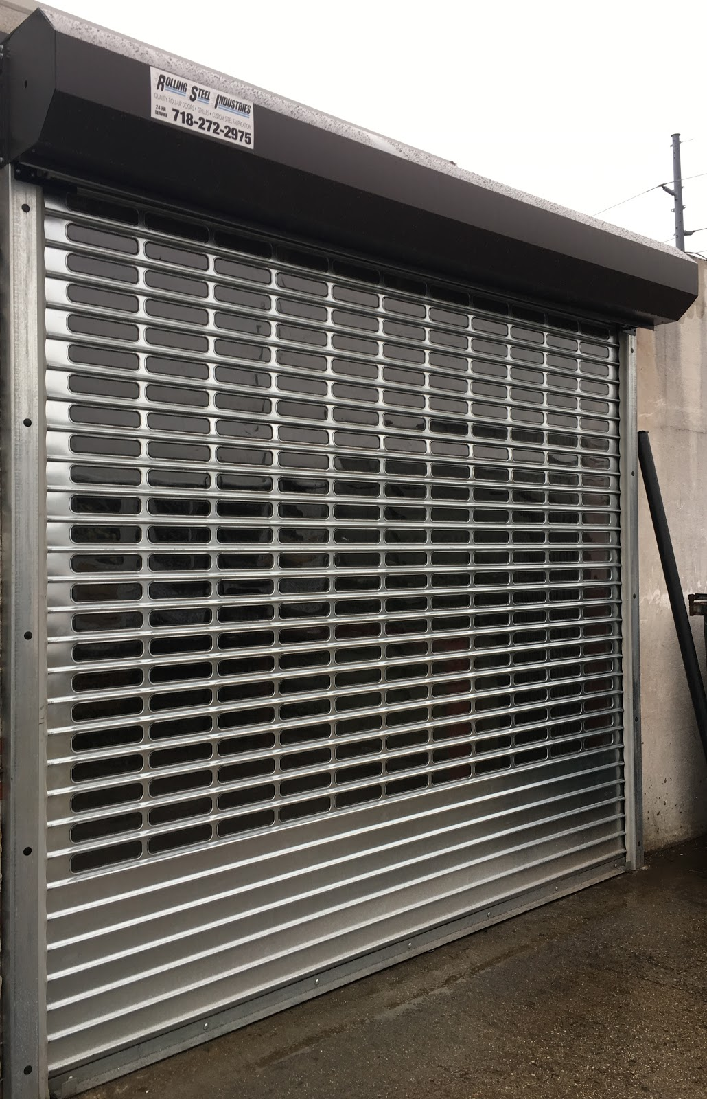 Rolling grille gates roll up door repairs down
